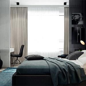 现代简约风格家装卧室装修效果图