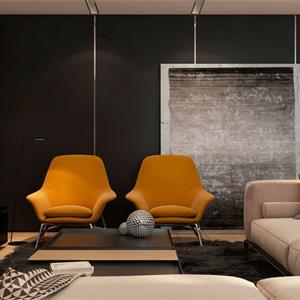 现代风格客厅吊顶效果图