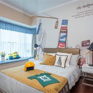 法式儿童房男孩房间装修效果图
