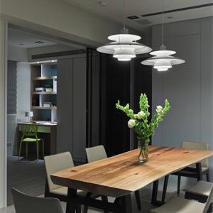 现代风格高级黑餐厅装修效果图图