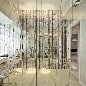 北欧风格三居客厅阳台装修效果图