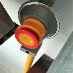 燃气表有一个红色按钮什么用?为什么被人家是关掉的