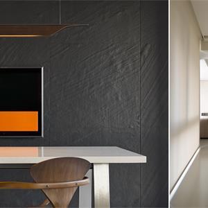 简欧三居室装修客厅设计图