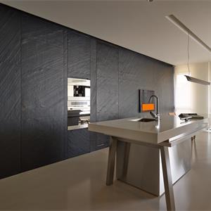 126㎡现代简约厨房装修效果图