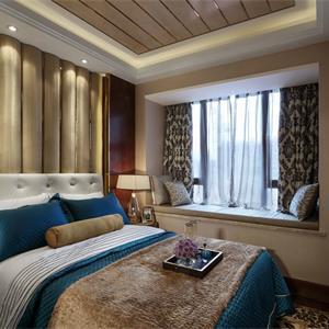美式别墅装修卧室设计图