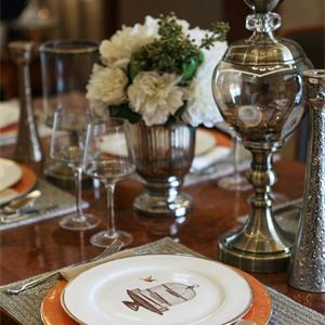 古典美式风格餐厅装修效果图