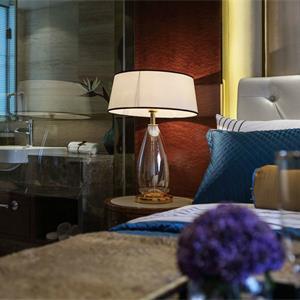 138平美式风格卧室装修效果图