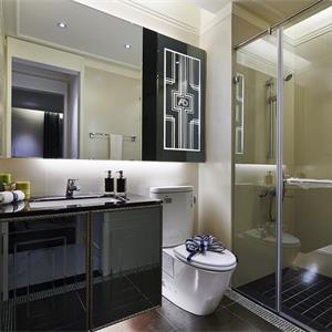 法式卫生间装修效果图设计图片