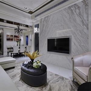 130㎡欧式风格客厅装修效果图