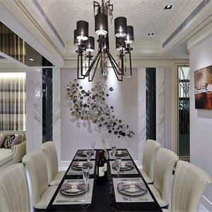 欧式风格别墅装修餐厅设计图