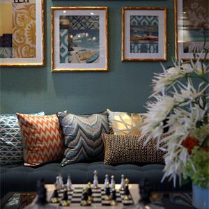 歐式風格別墅裝修客廳布置圖