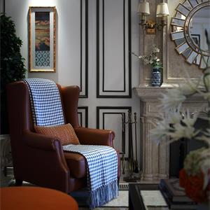 复式欧式风格客厅装修效果图