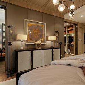 新古典风格大户型卧室装修效果图