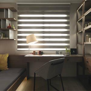 大户型中式风格卧室书房装修效果图