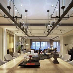 160平米中式风格餐厅装修效果图