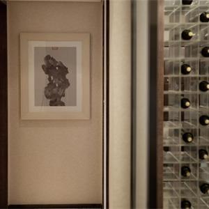 中式别墅装修玄关走廊效果图