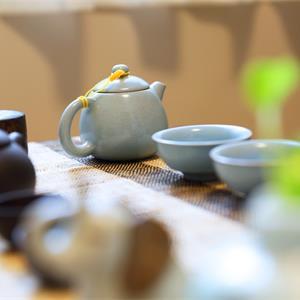 中式风格客厅茶室装修设计效果图
