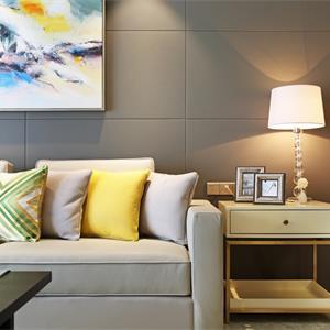 中式客厅创意台灯效果图
