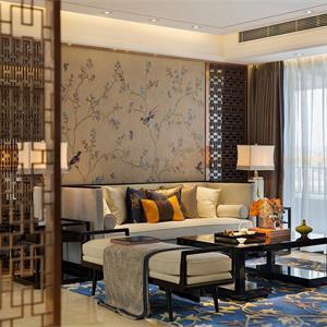 中式風格客廳裝修設計效果圖