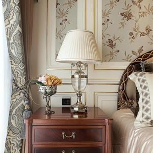 美式卧室一角三室一厅装修效果图