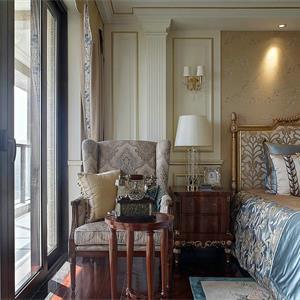 欧式混搭大户型卧室装修效果图