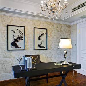 三居室法式风格书房装修效果图
