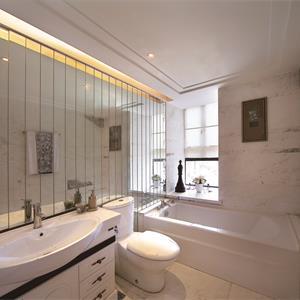 法式风格二居卫生间装修效果图