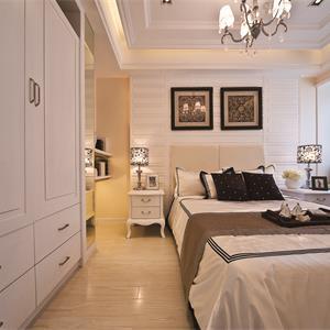 法式风格二居卧室装修效果图