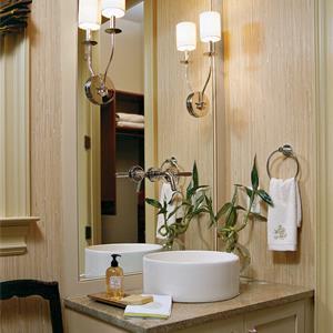 美式风格四居卫生间装修效果图