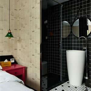 三室一厅卧室现代简约风装修效果图