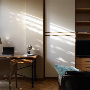 三居室美式风格装修书房设计图