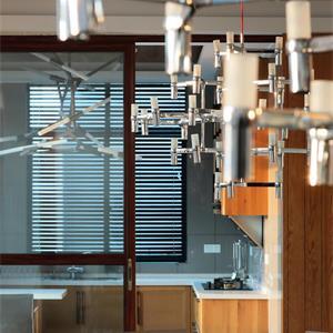 大户型美式风餐厅装修效果图