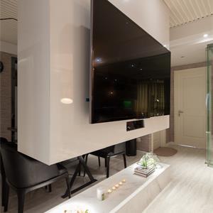 现代简约风格家装客厅效果图